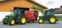 El tractor en Vitoria