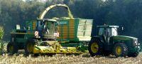 El tractor en Pontevedra